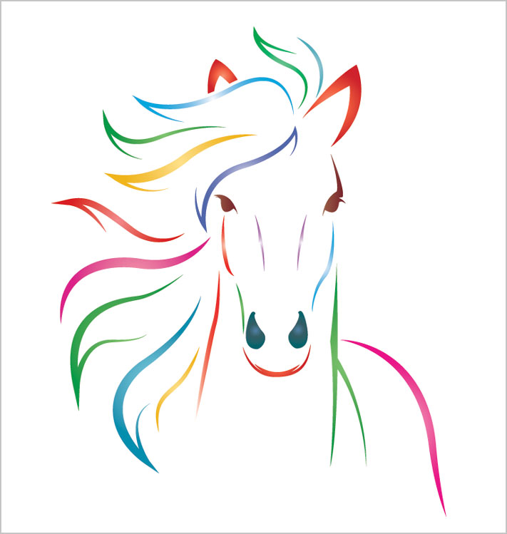 Logo Design Pony