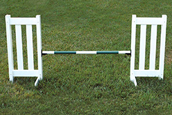 CDouble Picket Jump Set