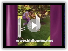 Holiday Kid Jumps Course